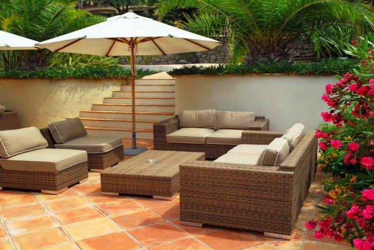 patio-of-a-villa
