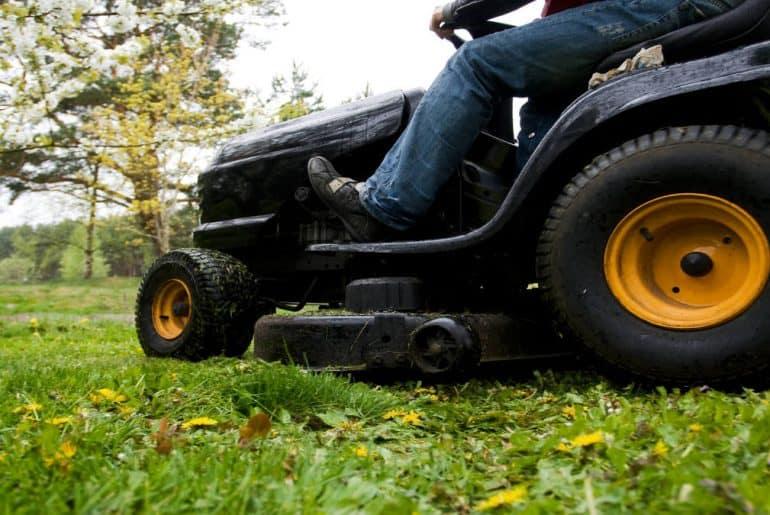 Grasshopper Lawn mower
