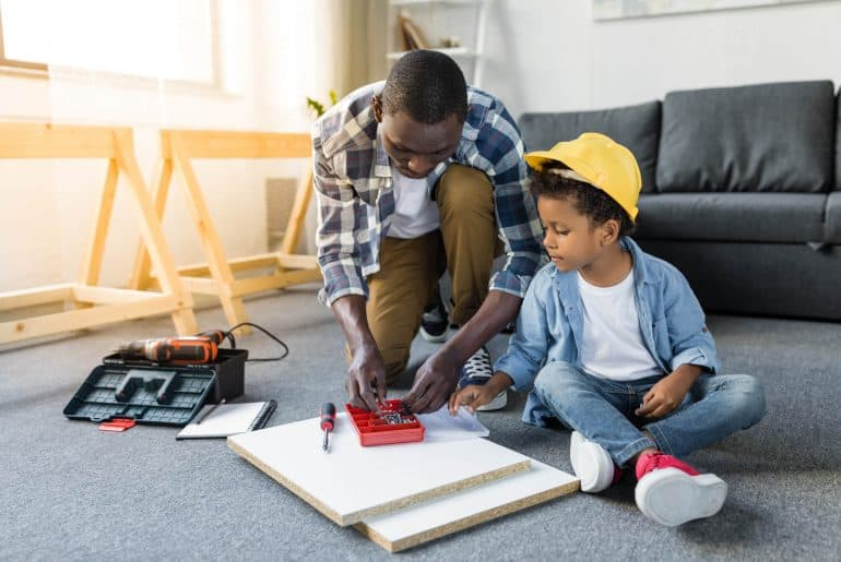 ikeafans-African-american-father-and-son-doing-renovation