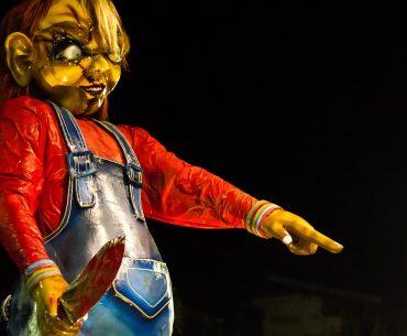 Chucky doll materials