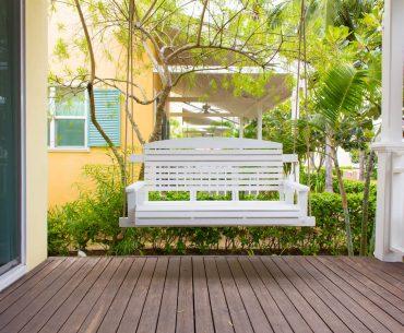 comfortable porch swings