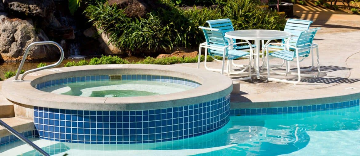 pool-and-hot-tub-with-table